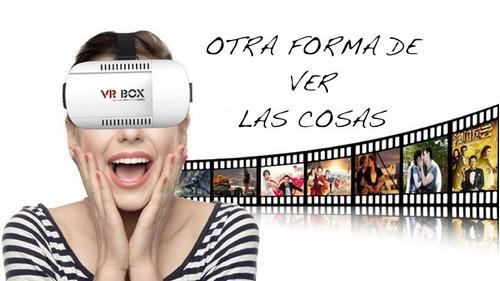 gafas realidad virtual 3dvr box, ultima version para celular
