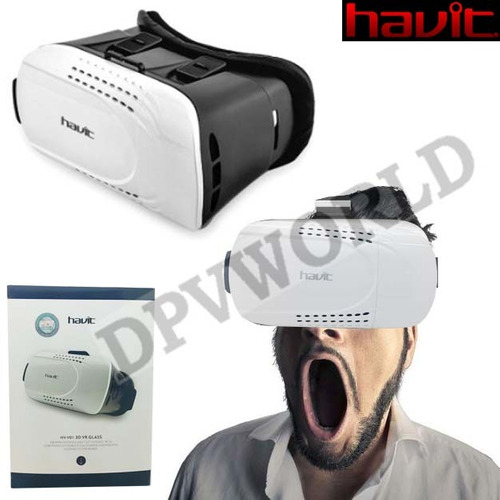 gafas realidad virtual havit hv-vr01 box 3d google cardboard