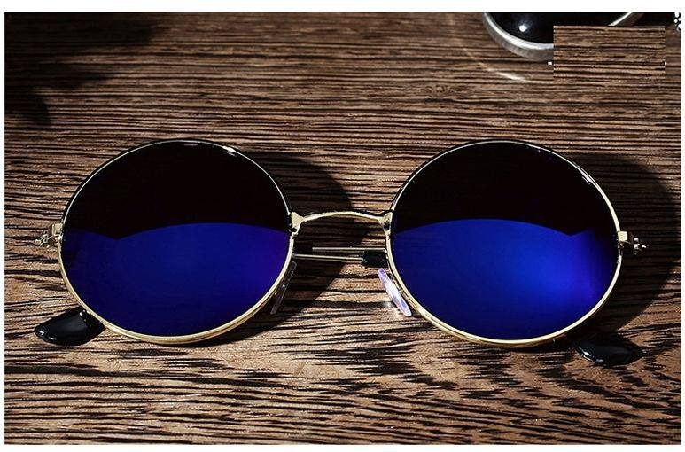 840e2ffe5f Gafas Redondas Polarizadas Unisex Hombre/mujer - $ 139.00 en Mercado ...