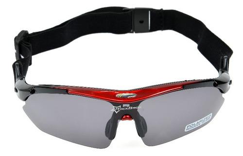 gafas rockbros uv400 polarizado 4 lentes+accesorios y regalo