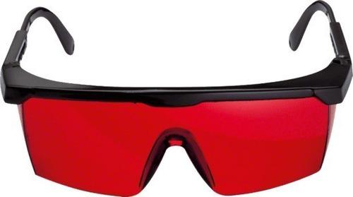 gafas rojas anteojos para vision nivel laser bosch