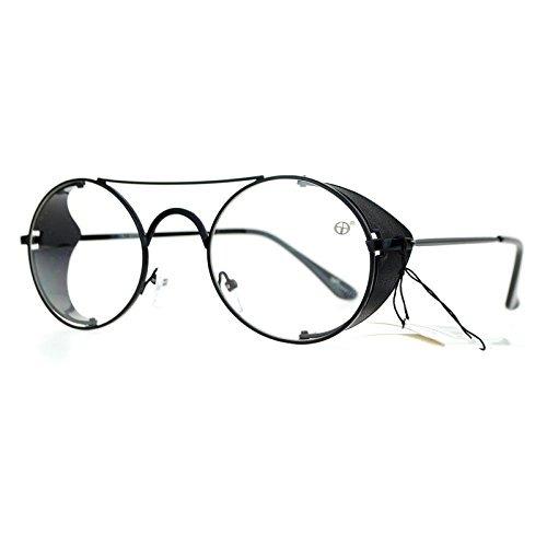 bd48d65138 Gafas Sa106 Estilo Vintage Visor Lateral Retráctil Transpar ...
