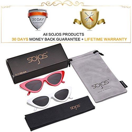 b26dc57221 Gafas Sojos Clout Gafas De Sol Ojo De Gato Estilo Vintage Mo ...