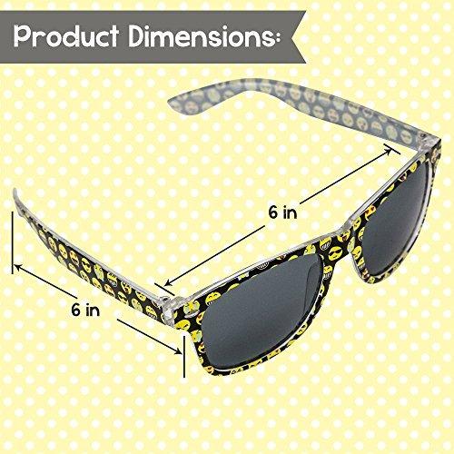 Gafas Sol Emoji Niños 1 Gafas Sol Los Niños Marco Diseñado C ...