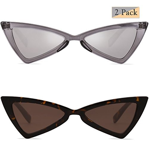 8db8963ed4 Sojos Gafas De Sol Pequeñas Cateye Para Mujer Hombre Gafa ...
