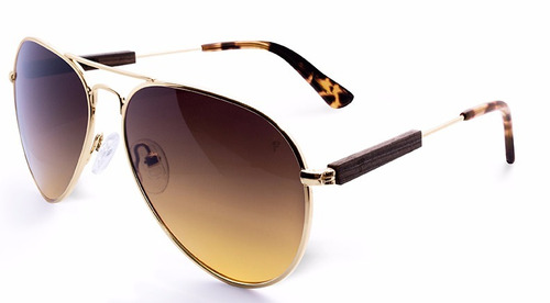 gafas sol hombre mujer fento chopper gold wengue  brown