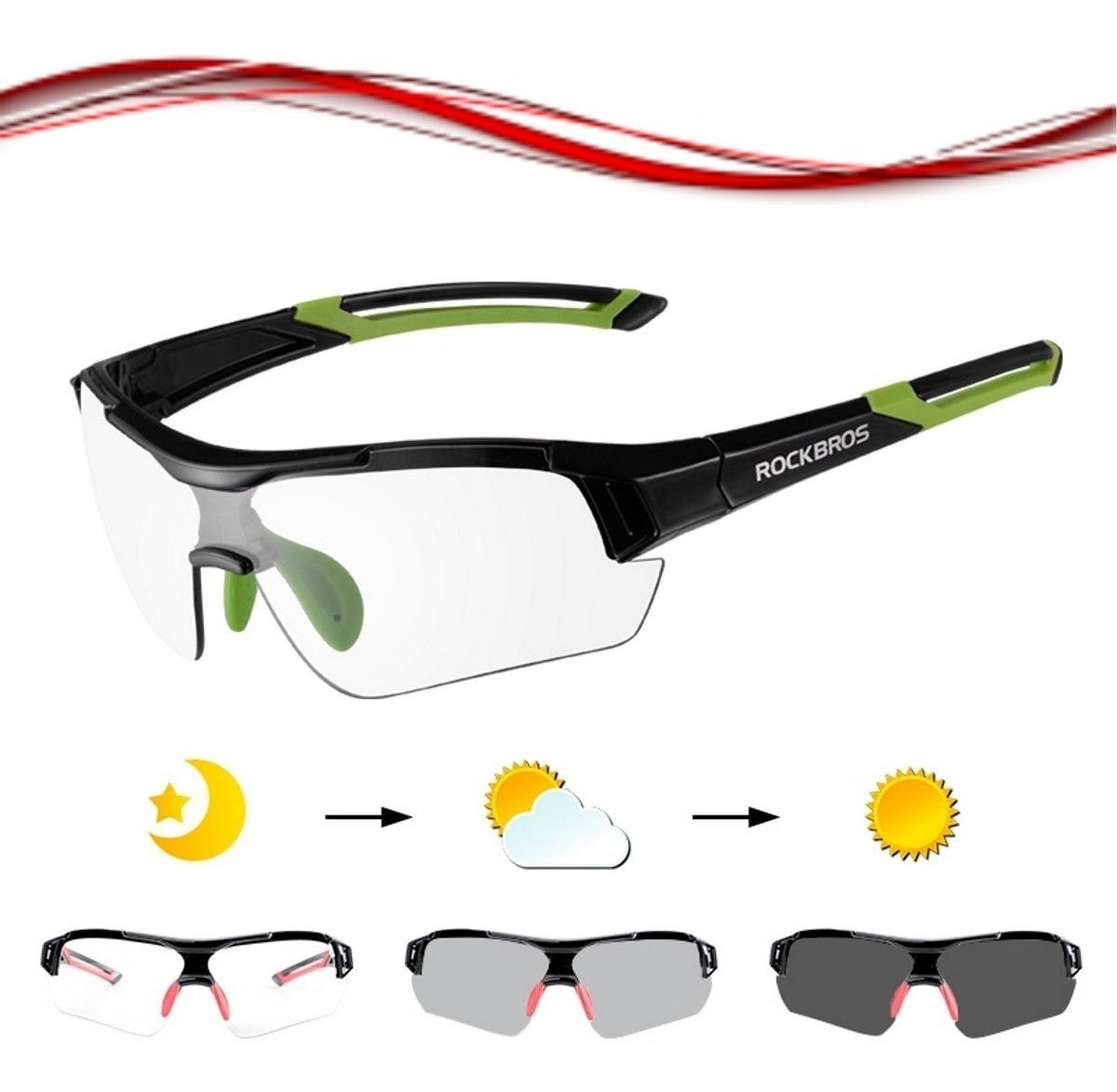 3b52d3f52b ... Ropa para Ciclismo · Gafas. Compartir. Compartir. Vender uno igual ·  gafas tipo transitions fotocromaticas rockbros bicicleta mtb. Cargando zoom.