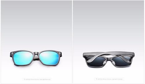 gafas tipo wayfarer unisex hd polarizadas uv400 originales
