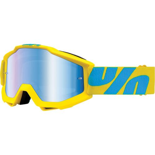 gafas todoterreno 100% accuri fiji/lentes espejados