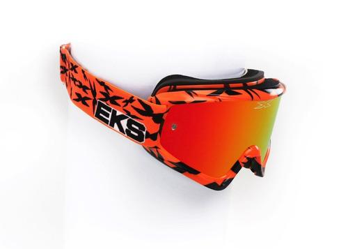 gafas todoterreno eks brand gox scatter x negro/naranja