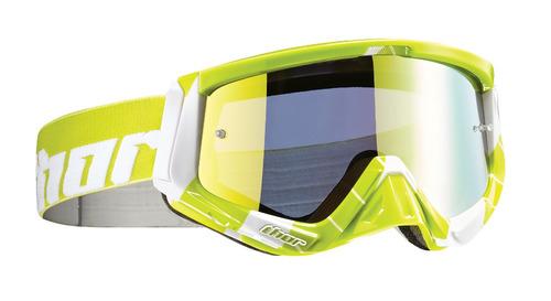 gafas todoterreno thor sniper lima/verde/blanca os