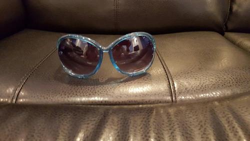 gafas turquesas