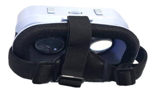 gafas vr 3d realidad virtual glasses miniso blanco