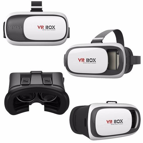 gafas vr box 3d realidad virtual + control remoto bluetooth