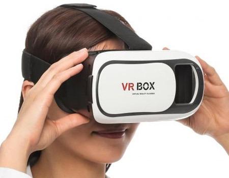 gafas vr box realidad virtual 3d celular + control de juego