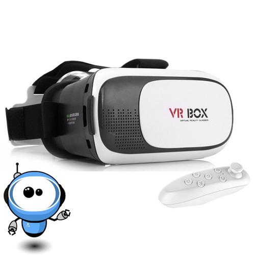 gafas vr box !! realidad virtual 3d celular juegos + control