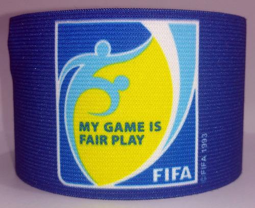 gafete capitan my game is fair play fifa portugal