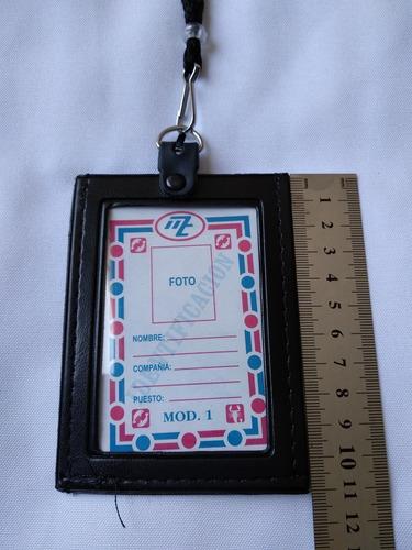 gafete porta credencial, identificacion, porta licencia