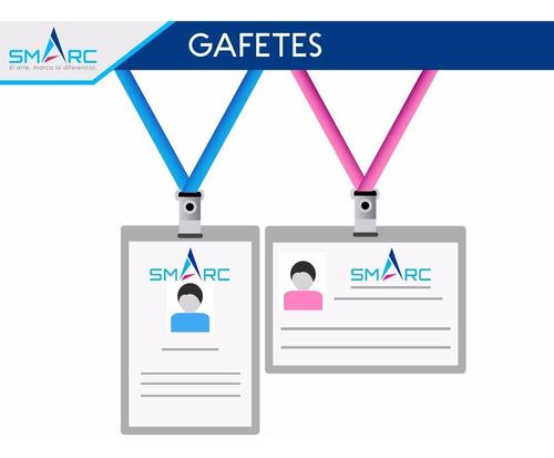 gafetes credenciales de pvc corporativas diseño e impresión