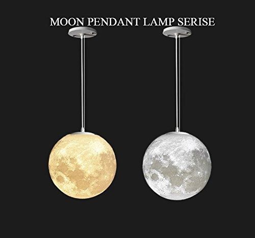 Luna Techo 32 Colgante Que Imprime Lámpara 3d Luz Gahaya La lK13TFcJ