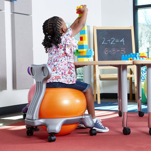 Outstanding Gaiam Kids Balance Ball Chair Silla Classic Ball Stabil Caraccident5 Cool Chair Designs And Ideas Caraccident5Info