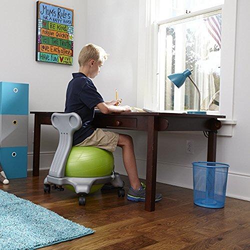 Brilliant Gaiam Kids Balance Ball Chair Silla Classic Ball Stability Caraccident5 Cool Chair Designs And Ideas Caraccident5Info