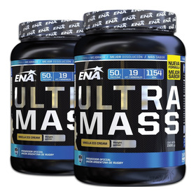 Gainer Ena Ultra Mass 3 Kilos Ganador De Peso Masa Muscular Magra
