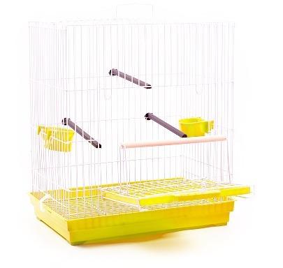 gaiola calopsita agapornis periquito amarela