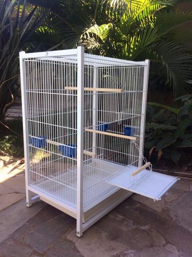 gaiola calopsita agapornis periquitos e aves mansas