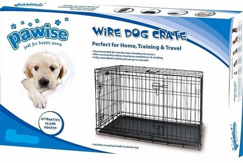 gaiola canil gg para cachorro cães gato demonstável inox