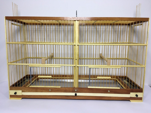 gaiola p reprodução divisória canario bicudo curio coleiro