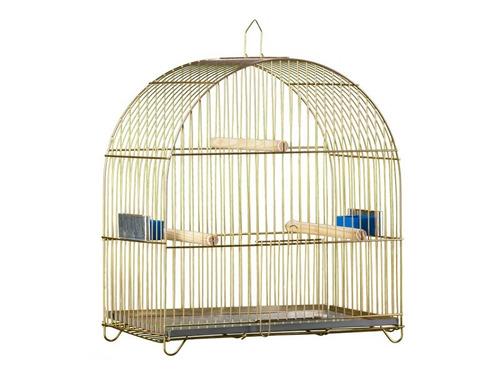 gaiola para passarinho redonda - grande