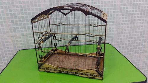 gaiola para trinca ferro aço inox  luxo gp