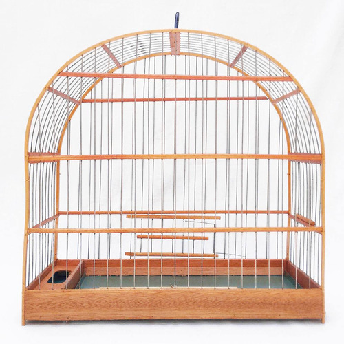 gaiola - pixarro, trinca ferro, sabiá, pássaro preto porte g