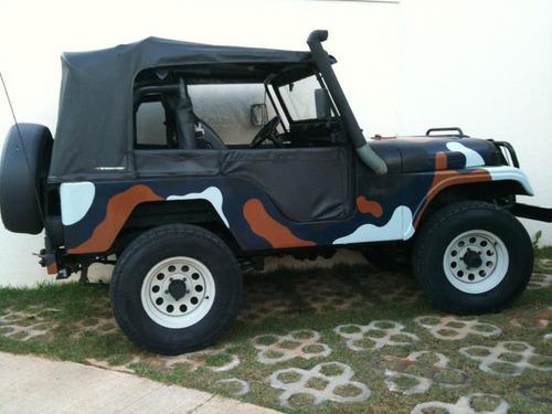 gaiola tubular profissional troco jet jeep troller f75 rural