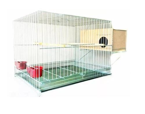 gaiola zincada criador para calopsita, agapornis, periquito