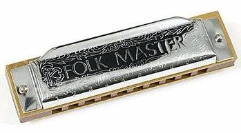 gaita blues diatônica suzuki folkmaster 1072 eb mi-bemol