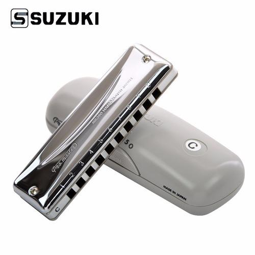 gaita blues diatônica suzuki mr-350 em c- c/ estojo