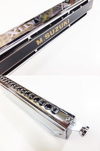 gaita cromática suzuki dó (c) scx-64 frete grátis