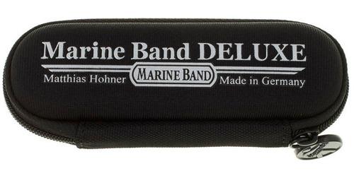 gaita diatônica hohner marine band deluxe 2005/20