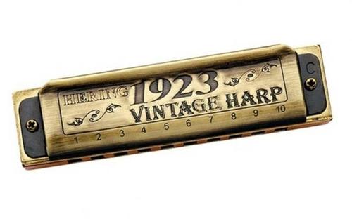 gaita harmônica hering diatônica vintage harp 1020 - 20 vo