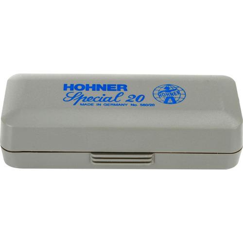 gaita harmônica special 20 - 560/20 g (sol) - hohner