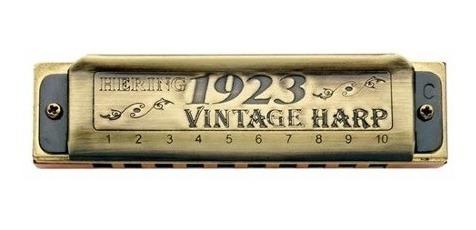 gaita hering 1020c vintage harp 1923 em dó - frete grátis