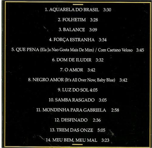 gal costa  gold   grandés éxitos    cd como nuevo