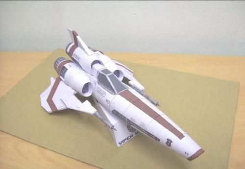galactica viper mark ii (para armar en papel)