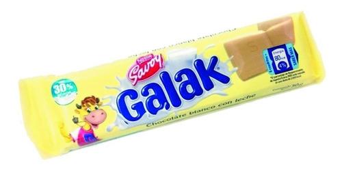 galak chocolate blanco 30g caja 12 unidades lf