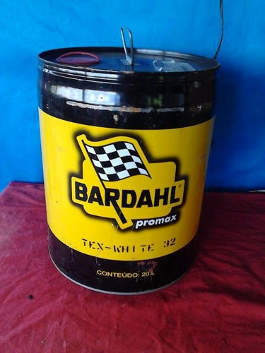 galao bardahl  20 lt  peça decorativa