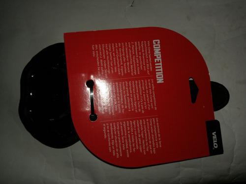galapago velo antiprostatico rojo-negro