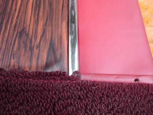 galaxie 1969/70 forro de porta diant. l.e vermelho novo