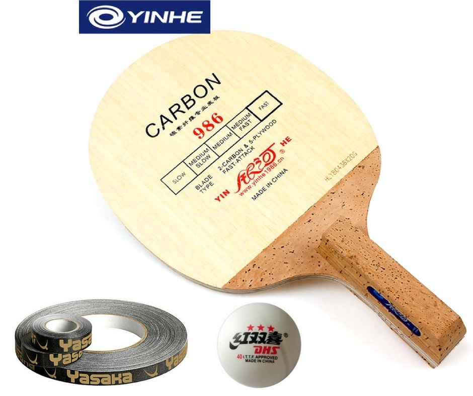 61ba1ccb66e galaxy 986 carbon - raquete caneta japonesa - tenis de mesa. Carregando  zoom.